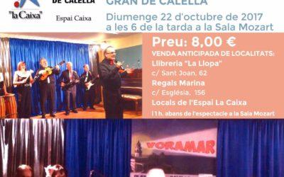 Espectacle : VORAMAR Play-Back Calella Associació Gent Gran de Calella
