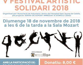 V Festival artístic solidari 2018