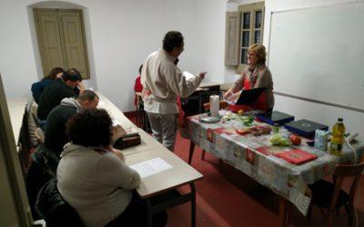 Estrena dels cursets de cuina