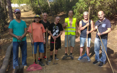 L'Encenall col·labora amb els voluntaris del Parc Dalmau