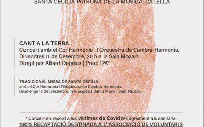 El concert de Santa Cecília enguany ofereix el «Cant a la Terra»