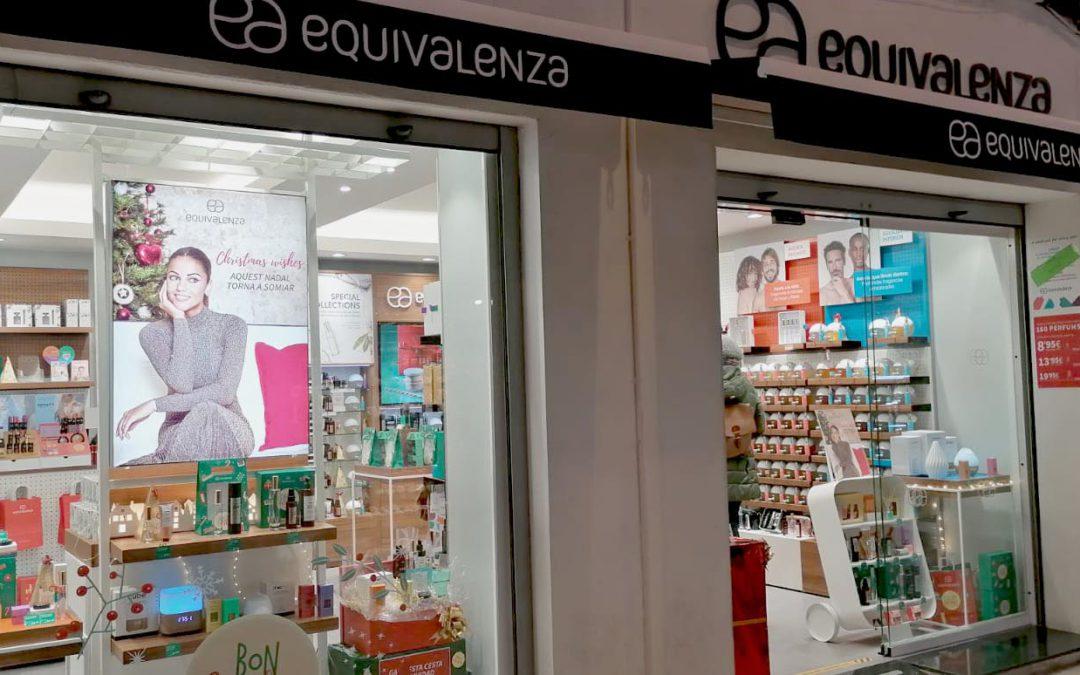 Agraïment per l'aportació de la perfumeria Equivalenza